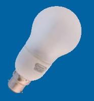 Omicron OMC8507 7W B22 Compact Fluorescent Lamp Energy Saving Compact GLS 2700K (OMC8507)