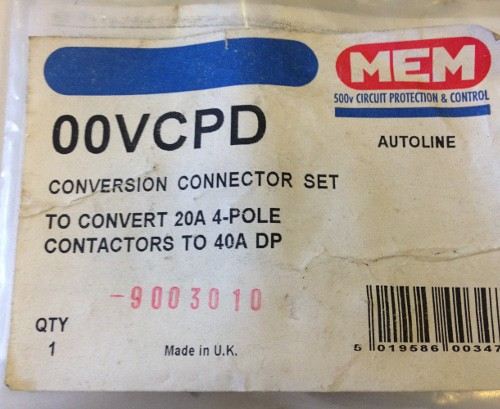Eaton MEM 00VCPD contactor link
