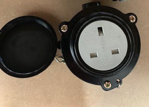 Lewden PD1322S Weatherproof 13A Socket
