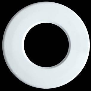 Collingwood Halers RB442MW,Round matt white bezel, RDL Twist Lock Round