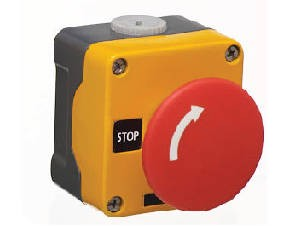 EUROPA Components RM1BS5642 Metal Emergency Stop Station