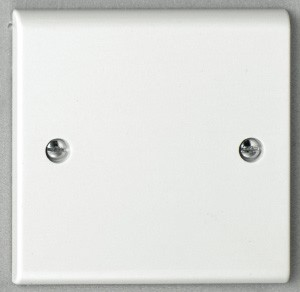 Deta S1200 1 gang Blank Plate