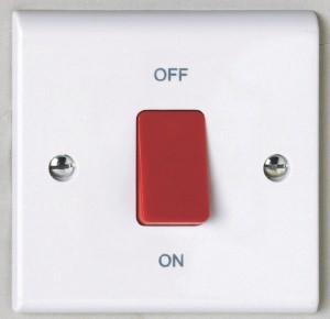 Deta S1300 45A DP Red Switch