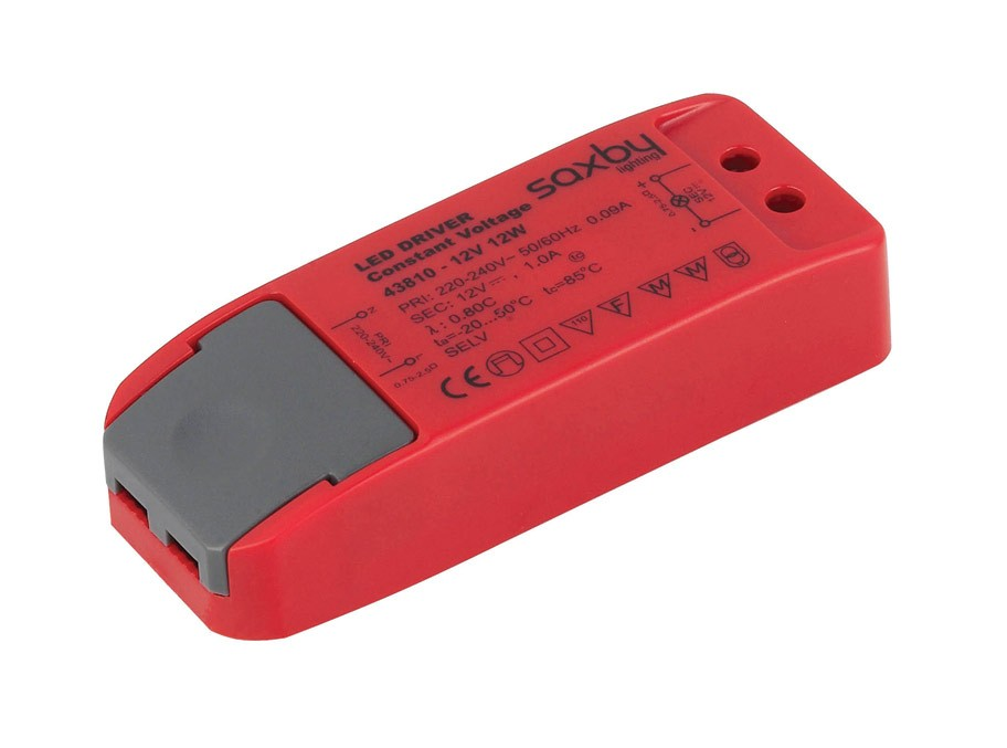 Saxby LED driver constant voltage 12W 12V (43810)