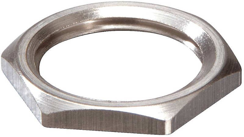 Wiska 10063144 EMMU 25 Nickel Plated Brass Locknut 25mm