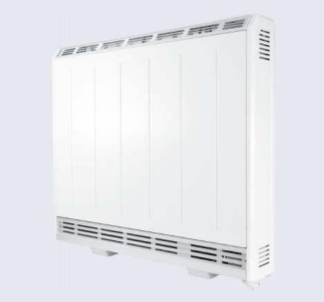 Dimplex XLE125 Slimline Storage Heater, 1.25kW,  7 Day Programmable User Timer