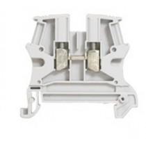 Legrand 037161 Standard DIN Rail Terminal, Viking 3 Series , 800 V, 36A, Screw Termination, Grey, Single Level
