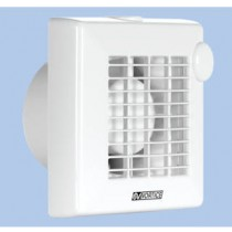 "Vortice 11221 Punto M 100/4"" A Axial bathroom fan with auto shutters"