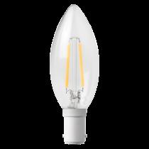 MEGAMAN 143753 3W Filament Candle B15 2700K
