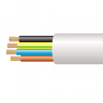 1.0mm² 3184B 4 Core Circular Flex Low Smoke Fume Cable