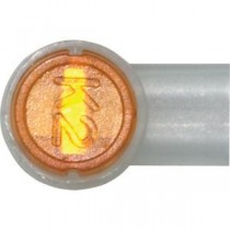 Wire Connector 8A/1 (UY2) 2 Wire Orange Insulation Outer Dia 2.1mm (Pack of 500)