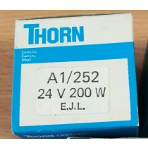 THORN A1/252, PROJECTOR LAMP, 24V, 200W