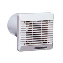 "Vent-Axia 254102 100mm 4"" Wall Kit White c/w Sleeve & External Grille"