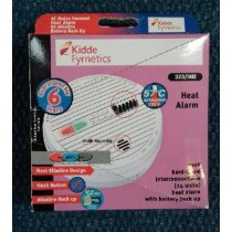 KIDDE 323/9HI HEAT ALARM, hush button and battery back up