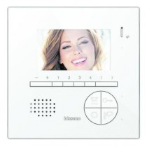 BTICINO / LEGRAND 344522, Hands free video internal units (Classe 100), Classe 100V12E