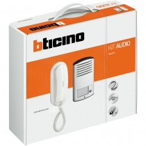 Legrand Bticino 366811, Door Entry Kit, Audio 1 Way c/w Sprint L2 Handset &, Linear 2000 Pushbutton Panel