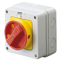 Gewiss GW70433 16A 4 Pole Control Rotary Switch, Water Tight Enclosure IP65