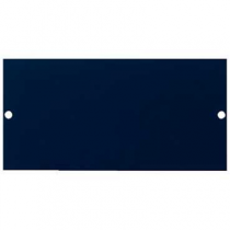 Mita INS55326 Floor Box Blanking Plate, 3 Comp 87mm x 173mm x 1mm Blue