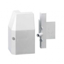 Mita SKE82W External Angle for Skirting Trunking White