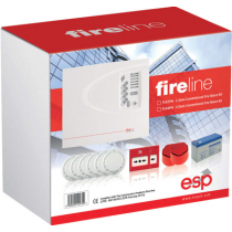 FLK2P 2 Zone Conventional Fire Alarm Kit
