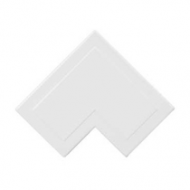 Mita MFA3W 38x16mm Flat Angle for Mini Trunking, White