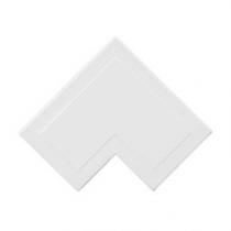 Mita MFA4W 38x25mm Flat Angle for Mini Trunking, White
