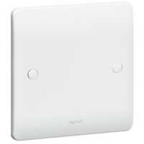 Legrand Synergy 730095 Blanking Plate 1G  86 x 86 mm White