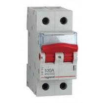 Legrand 406455 Isolator, DP SW, Size: 100A