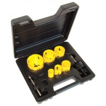 C.K. Tools Hole Saw Kit 8 Pcs (424043)