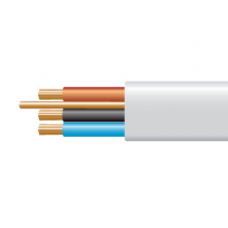 1.5mm² 6243B White XLPE Insulated, LSNH Sheathed Cables with Circuit Protective Conductor