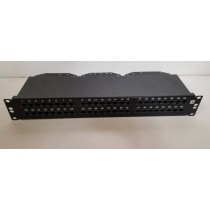 771841, Krone , NETCONNECT Cat5e Right Angle 48 Port Patch Panel