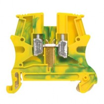 Legrand 037170 Earth Block, Viking 3 Series , 2.5mm², 800 V, 18A, Screw Termination, Green/Yellow, Single Level