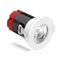 Aurora Lighting AU-FRL801B/40 8.5W IP65 Fixed Non-Dimmable Fire Rated Downlight