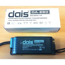 Aurora Dais DA-E60 20-60W/VA Dimmable Electronic Transformer