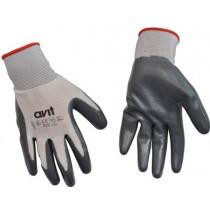 Ceka AV13072 Gloves, Nitrile Coated, EN420 Class 2 EN388, Size: L Size 9