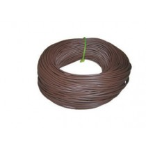 Norslo 3.0mm PVC Sleeving BNS3 Brown