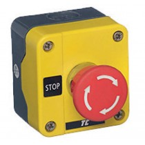 EUROPA Components RCAS-ESB541NC Boxed Emergency Stop Twist Release