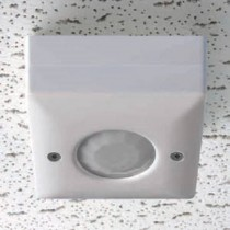 Danlers CELO Occupancy Switch, Ceiling Surface Mntd PIR Occupancy, Plug In Version, Size:230V 6A (R) 6A (F) 2A (L)