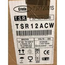 Creda TSR12ACW AUTO COMBI 1.68/1.0KW Combination Storage Heater 1.7kW with 1kW Convector Heater