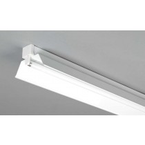 Dextra Lighting DP4R Dexpax Steel Single/Twin Trough Reflector For 36W Fluorescent Batten 4ft
