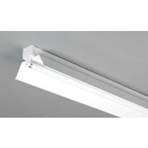 Dextra Lighting DP4R Dexpax Steel Single/Twin Trough Reflector For 36W Fluorescent Batten 4ft