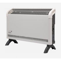 Dimplex DXC20Ti 2kW Contrast Convector Heater, Freestanding with Thermostat and Timer