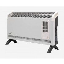 Dimplex DXC30FTi 3kW Contrast Convector Heater, Freestanding with Thermostat, Turbo Fan and Timer