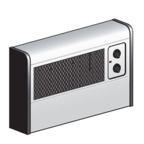 Dimplex WFC3NS Wall Fan Convector Heater 3kW Satin Silver