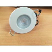 Collingwood Halers DLT388MW5530 Downlight, Dimmable, H2 Lite 55Deg 3000K LED, c/w  Matt White Bezel & Push-Fit Connector