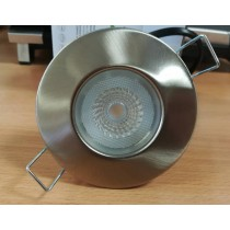Collingwood Halers DLT388BS5530 Downlight, Dimmable, H2 Lite 55Deg 3000K LED, c/w  Brushed Steel Bezel & Push-Fit Connector