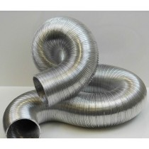 "FLPAK125 125mm 5"" x 3m Semi Rigid Aluminium Flexible Ducting"