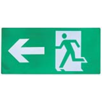 Channel Safety Systems E/PIC/AL/AL Alpine™ Pictogram – Arrow Left  - buy online or in-store from John Cribb & Sons Ltd