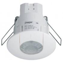 HAGER EEK513W, Sensor, PIR Occupancy c/w 3m Lead