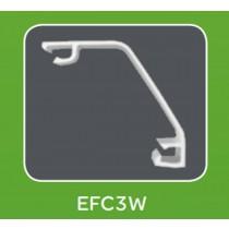 Mita EFC3W White UPVC Envoy Flex Chamfer Lid 3m